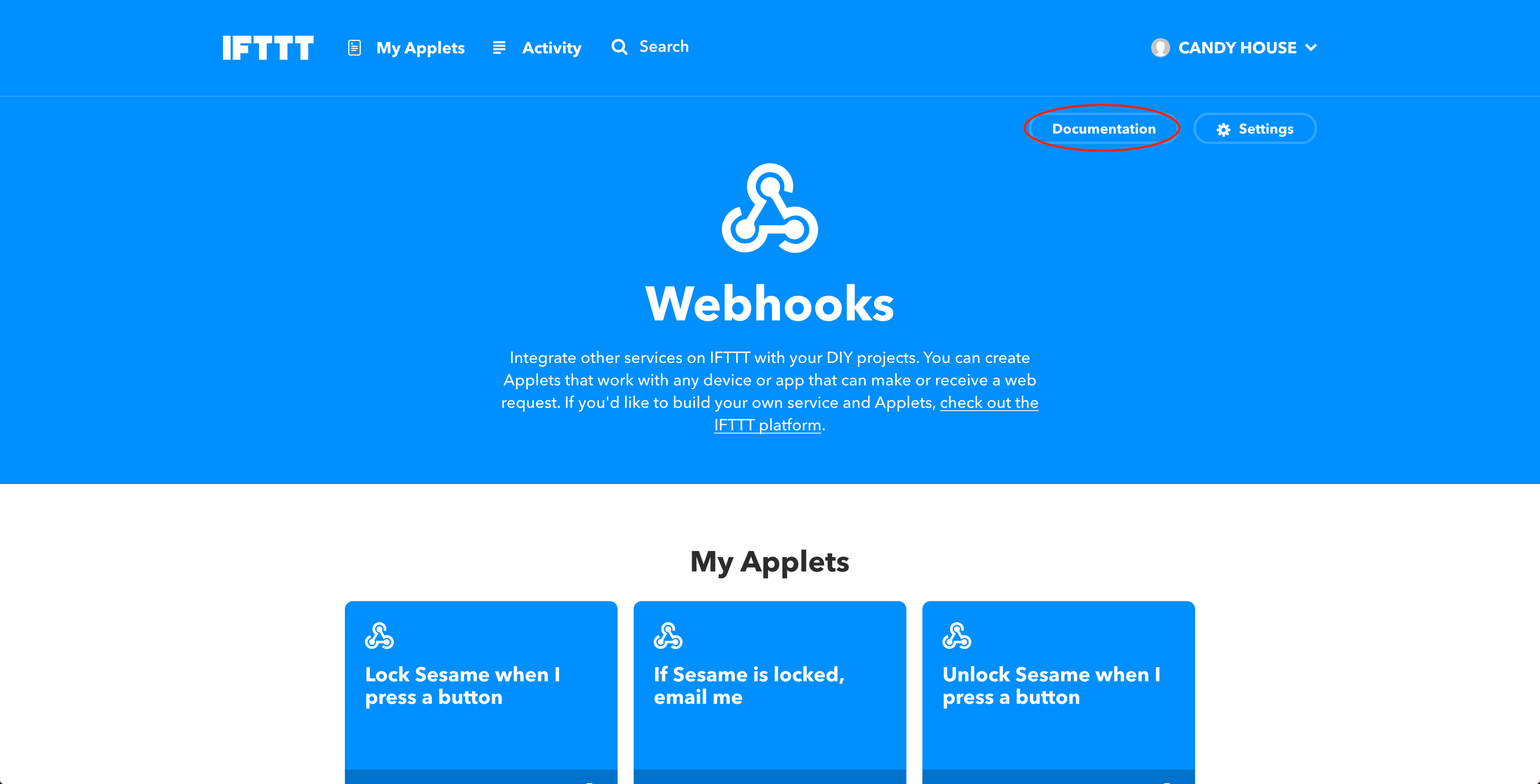 Webhook Documentation